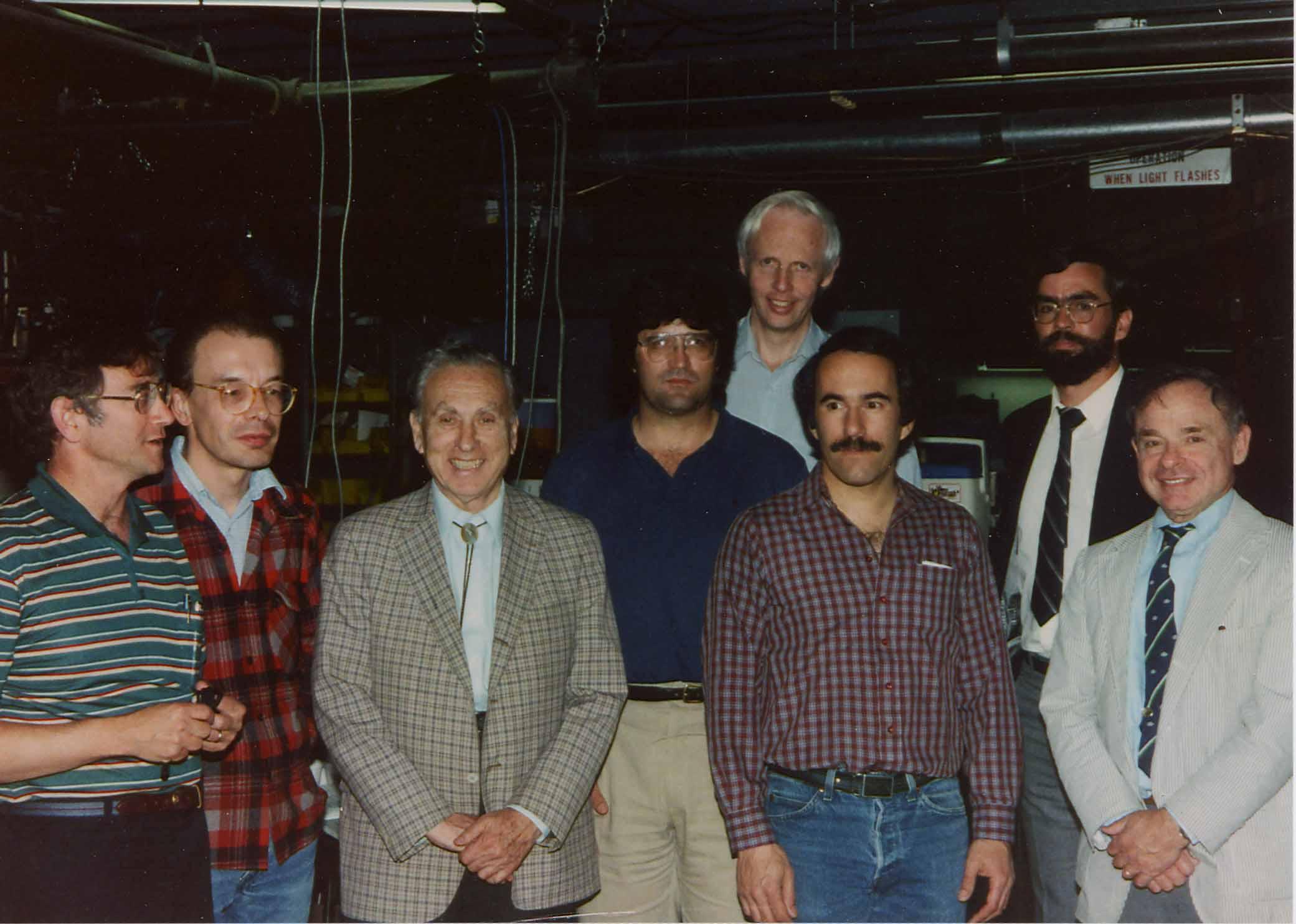 First Synchrotron Radiation Ssr